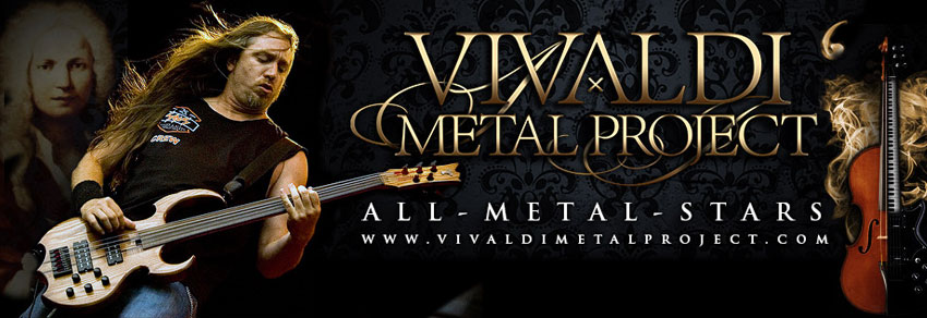 Steve joined the Vivaldi Metal Project