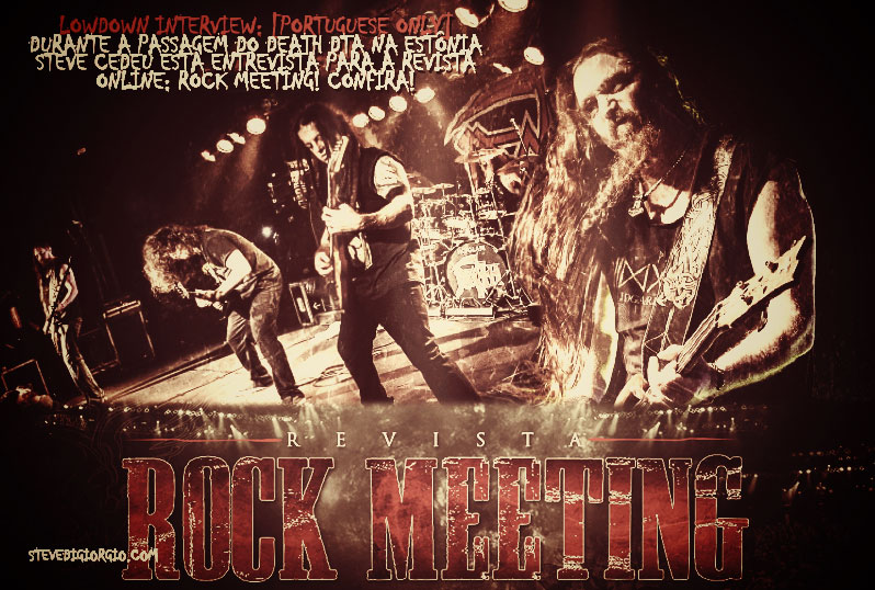 LowDown Interview: [Portuguese Only] For brazilian digital magazine RockMeeting!