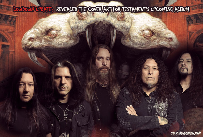 Revealed the cover art for Testament's upcoming album