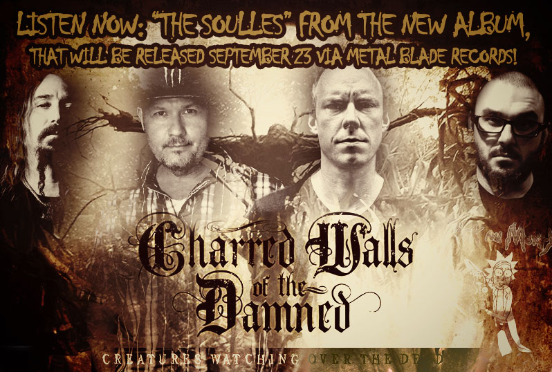 Listen a track from the upcoming Charred Walls of the Damned album