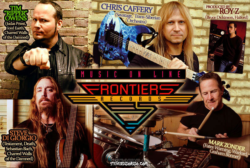 New Musical Project-Sponsored By Frontiers Music