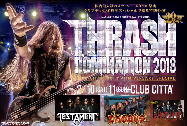 Thrash Domination 2018 Into the Mosh Pit in Japan