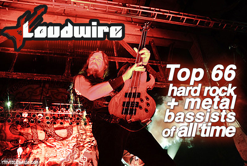 Loudwire Top Hard rock and Metal Bassists of All time