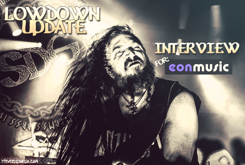 Steve talks to EonMusic UK about his journey around and with Testament since The Gathering