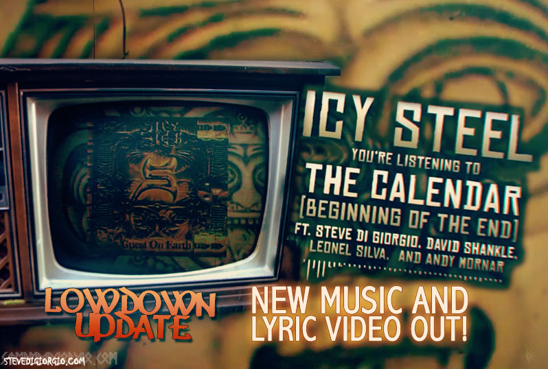 Lyric video for The Calendar from Icy Steel